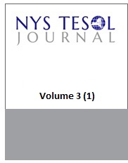 NYS TESOL Journal Volume 3(1)