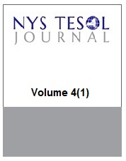 NYS TESOL Journal Volume 4(1)