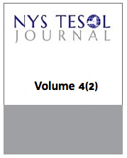 NYS TESOL Journal Volume 4 (2)