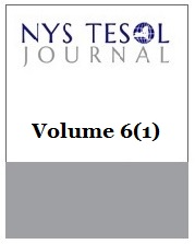 NYS TESOL Journal Volume 6(1)