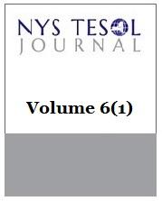 NYS TESOL Journal Volume 6(1)