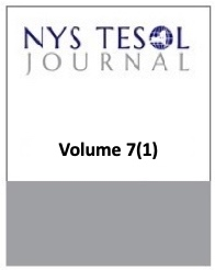 NYS TESOL Journal Volume 7(1)