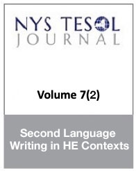 NYS TESOL Journal Volume 7(1)