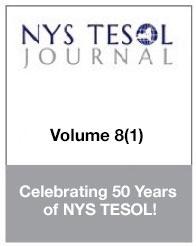 NYS TESOL Journal Volume 8(1)